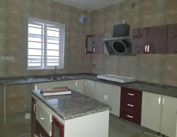 Tastefully finished 2 units of 4 Bedroom Mansion Fully Detached house with BQ